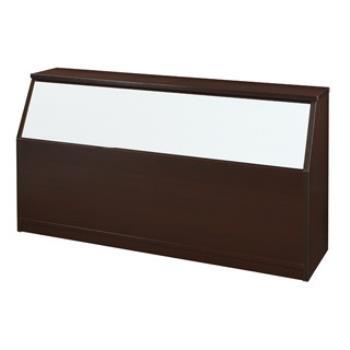 【顛覆設計】潮濕剋星-防水塑鋼3.5尺單人床頭箱(六色可選)