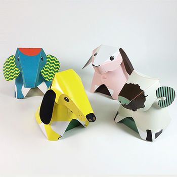 [imSTONE石頭紙禮品] 動物夜燈 /LED晚安夜燈/DIY