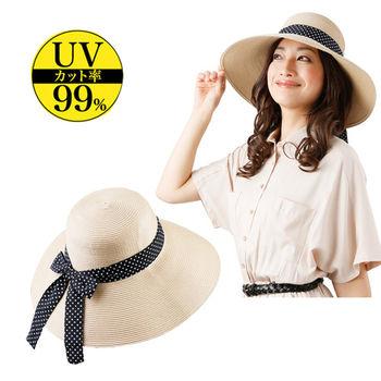 日本Sunfamily涼感抗UV長帽緣透氣小臉帽(可水洗式)