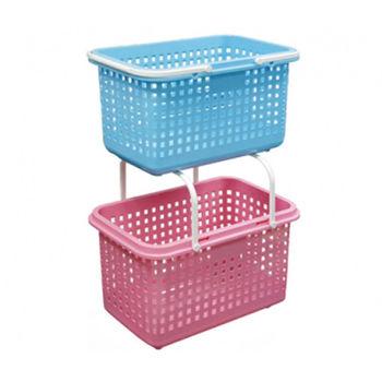 【將將好收納】桂花田洗衣籃-3色可選