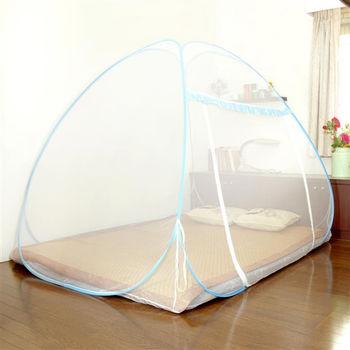 【Love Buy】彈開式蒙古包造型蚊帳(雙人床尺寸)