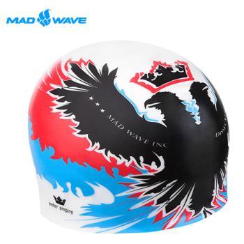 俄羅斯MADWAVE成人矽膠泳帽 EMPIRE送Barracuda矽膠耳塞