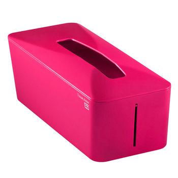 【Zakka雜貨網】Tissue.Know自動彈升面紙盒-巴黎紅