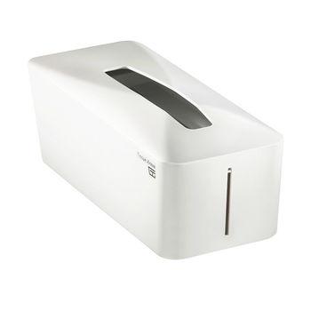 【Zakka雜貨網】Tissue.Know自動彈升面紙盒-帆船白