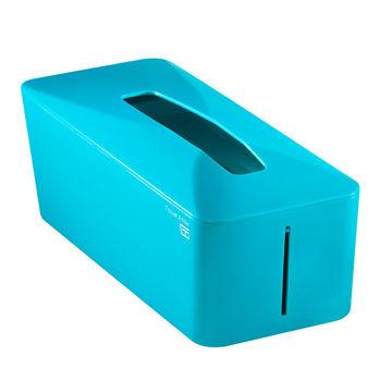 【Zakka雜貨網】Tissue.Know自動彈升面紙盒-土耳其藍