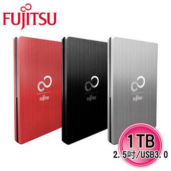 Fujitsu富士通 USB3.0 2.5吋金屬鋁殼房髮絲紋路1TB USB3.0 2.5吋 行動硬碟