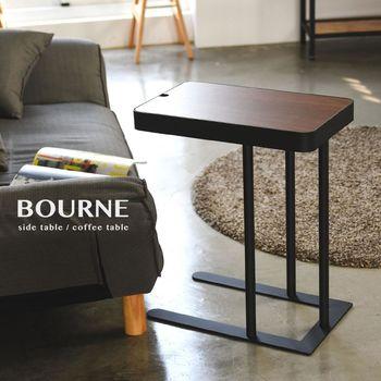 《舒適屋》工業無印風可調整高度側邊桌/小茶几桌
