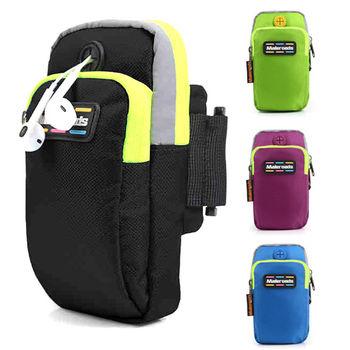 Maleroads 加大設計款 運動臂包 容納5.8吋手機 多夾層 隨身物品好收納 臂帶 防潑水透氣設計