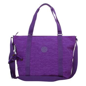 KIPLING PURPLDAHLI PVC手提/斜背包/紫