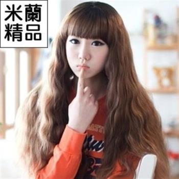 【米蘭精品】假髮整頂假髮長假髮時尚逼真蓬鬆長捲髮