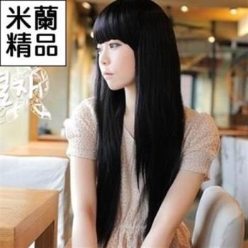 【米蘭精品】假髮整頂假髮長假髮時尚氣質逼真長直髮