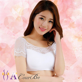 【A+CourBe】★超值任選★韓系經典優雅蕾絲美胸內衣(白色)