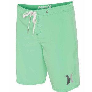 Hurley 幻影系列(超機能)PHANTOM SOLID 9 BEACHRIDER 海灘褲 - 女 ( 亮淺綠 )