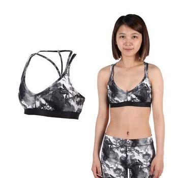 【PUMA】女訓練低衝擊運動內衣-BRA 慢跑 韻律 有氧 瑜珈 運動背心 灰白