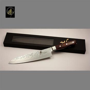 臻 刀具 / 手作大馬士革鋼系列-240mm世界頂級廚師刀 -DHC80-2B