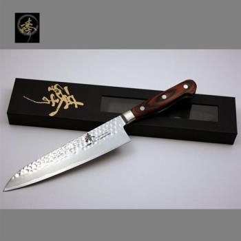臻 刀具 / 手作大馬士革鋼系列-210mm世界頂級廚師刀 -DHC80-02N