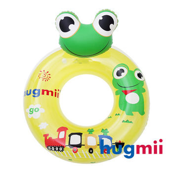 【hugmii】童趣造型兒童游泳圈_青蛙