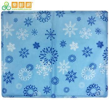 【樂齡網】冷凝膠涼枕(坐)墊40x50cm