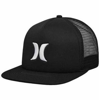 Hurley - BLOCKED TRUCKER 棒球帽 - 黑