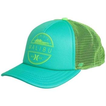 Hurley DESTINATION TRUCKER HAT 棒球帽 - 薄荷綠