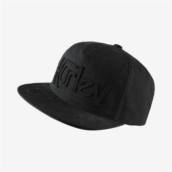 Hurley - ORIGINAL CORD 棒球帽 - 黑