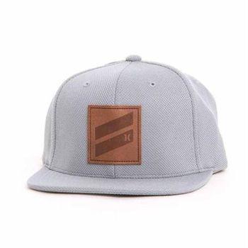 Hurley - ICON SLASH 棒球帽 - 灰