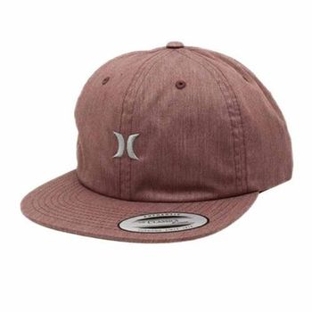 Hurley - SOMERSET 棒球帽 - 紅