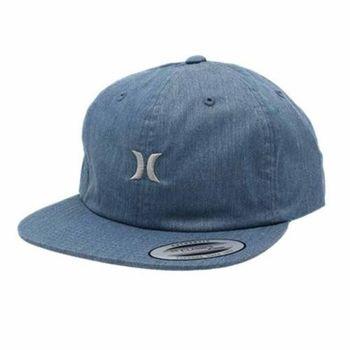 Hurley - SOMERSET 棒球帽 - 淺牛仔藍