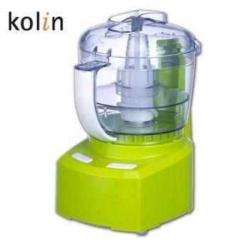 (福利品)【Kolin歌林】雙向旋轉食物調理機KJE-HC04 / 切碎 / 攪拌 / 調理 / 研磨