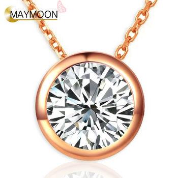 MAYMOON 18K金封存的愛-20分鑽石項鍊(三選一)
