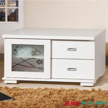 【品味居】梵谷林 時尚3尺收納櫃/電視櫃(兩色可選)