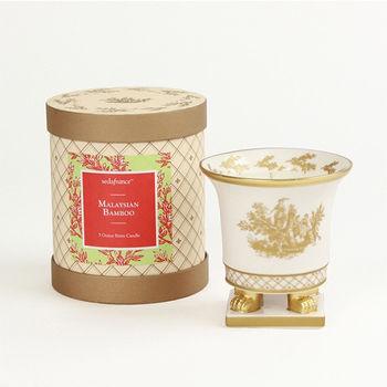 法國賽達高級香水蠟燭5oz.陶瓷精雕杯蠟 - 馬來西亞翠竹