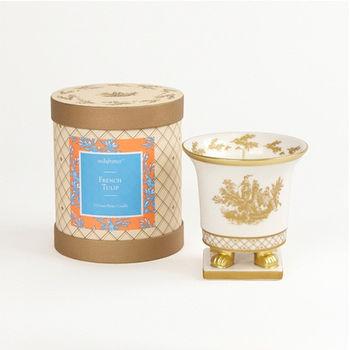 法國賽達高級香水蠟燭5oz.陶瓷精雕杯蠟 - 法國鬱金香
