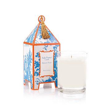 法國賽達高級香水蠟燭10oz.中國鐘 - 法國鬱金香