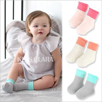 【三雙入】韓國熱銷超薄全棉鬆口兒童防滑襪