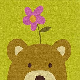 窩自在★兒童DIY創意油畫 動物系列(熊)