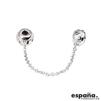 ESPANA伊潘娜 寵愛純銀串珠固定扣