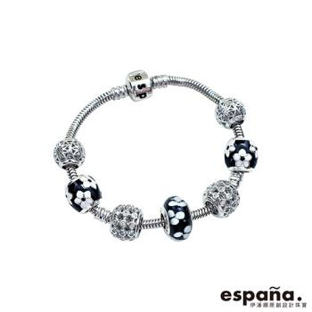 ESPANA伊潘娜 典雅少女純銀串珠手鍊