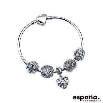 ESPANA伊潘娜 我心歸屬純銀串珠手鍊
