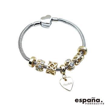 ESPANA伊潘娜 熱情相擁純銀串珠手鍊