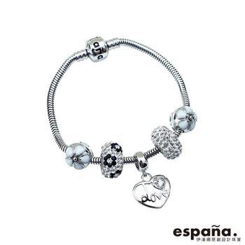 ESPANA伊潘娜 愛情線索純銀串珠手鍊