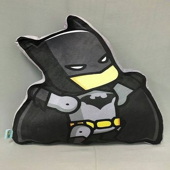 蝙蝠俠對超人:正義曙光 Q版抱枕-蝙蝠俠