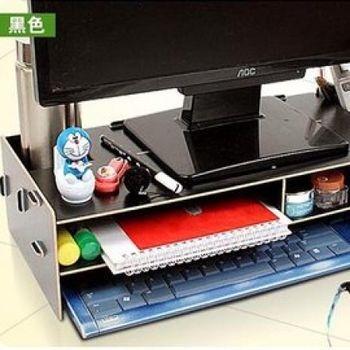 窩自在★電腦置物櫃3mm-黑色
