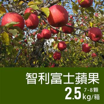 【築地一番鮮】智利富士蘋果7-8顆/2.5kg禮盒