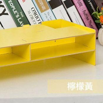 窩自在★電腦置物櫃3mm-檸檬黃