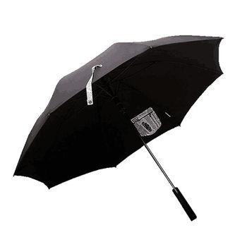 PUSH! 好聚好傘,99%抗紫外線降溫抗風多層雨傘戶外傘遮陽傘晴雨傘I31-1黑色配紐約時報口袋款