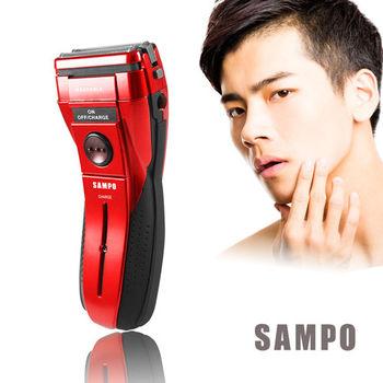 【聲寶】勁能水洗式雙刀頭電鬍刀(紅)EA-Z1503WL(R)
