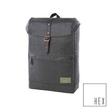 【HEX】Calibre 系列 Alliance Backpack 15吋 單皮帶筆電後背包 (黑)