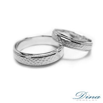 DINA JEWERLY蒂娜珠寶『深情刻印』系列鑽石對戒-預網