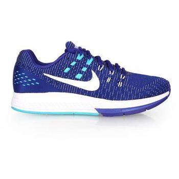 【NIKE】AIR ZOOM STRUCTURE 19 女慢跑鞋- 路跑 寶藍白